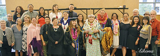 American Indian Studies Graduation (June 12, 2015)