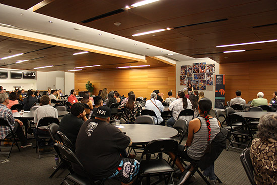 UCLA American Indian Welcome (September 28, 2017)