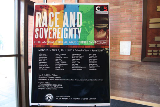 5th Annual CRS Symposium: Race and Sovereignty (March 31-April 2, 2011)