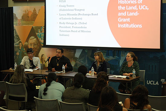 Lighting a Path Forward: UC Land Grants, Public Memory, and Tovaangar (October 15–16, 2019)