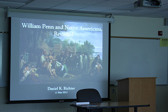 William Penn and Native Americans, Revisited (May 11, 2011)