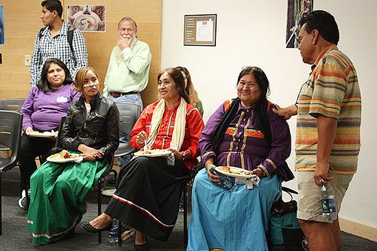Seri Tribal Representatives Visit UCLA from Sonora, Mexico (November 5, 2015)